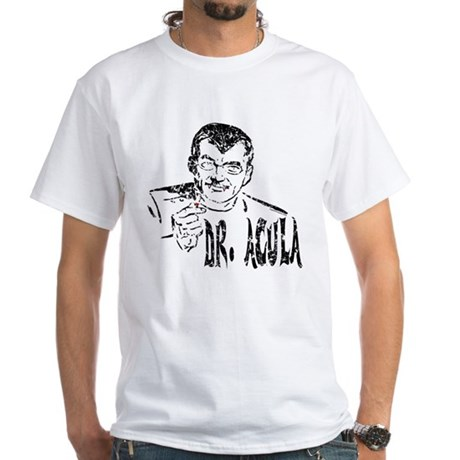 Dr Acula White T-Shirt