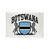 Botswana Rectangle Magnet