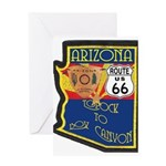 AZ HP Route 66 Greeting Card