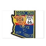 AZ HP Route 66 Postcards (Package of 8)