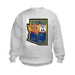 AZ HP Route 66 Kids Sweatshirt