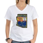 AZ HP Route 66 Women's V-Neck T-Shirt