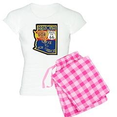 AZ HP Route 66 Women's Light Pajamas