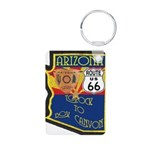 AZ HP Route 66 Aluminum Photo Keychain