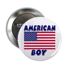 "American Boy 2.25"" Button (10 pack)"