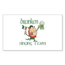 St Patrick's drunken singing Decal
