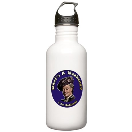 What's A Week End Stainless Water Bottle 1.0L