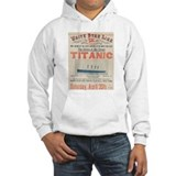Titanic Advertising Card Hoodie