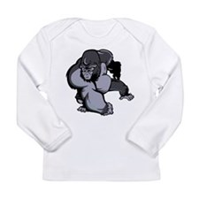 Gorilla Long Sleeve Infant T-Shirt