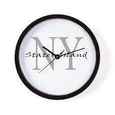 Staten Island Wall Clock