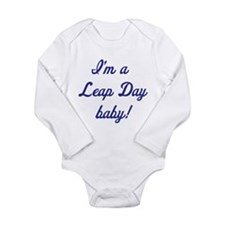 Leap day Long Sleeve Infant Bodysuit