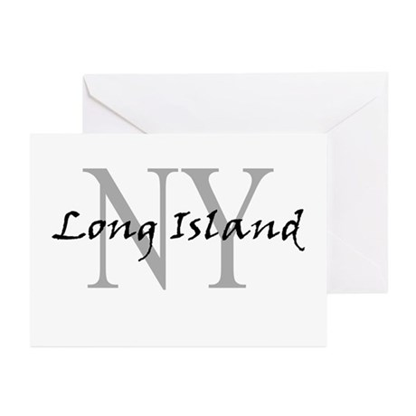 Long Island thru NY Greeting Cards (Pk of 10)