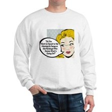Paralegal In Charge [Toon Edi Sweatshirt