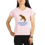 T Rex Can't Clap Hands Performance Dry T-Shirt