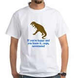 T Rex Can't Clap Hands Shirt