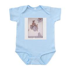 WH Robinson's Little Mermaid Infant Creeper
