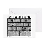 Bookshelf #6 Greeting Cards (Pk of 10)