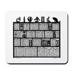 Bookshelf #6 Mousepad