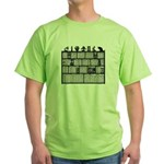 Bookshelf #6 Green T-Shirt