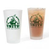 Irish Of the World Unite Drinking Glass