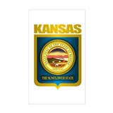 """Kansas Gold"" Decal"