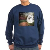 """Why God Made Dogs"" Samoyed Sweatshirt"
