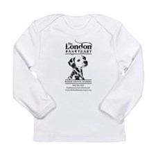 Funny Dog t logo Long Sleeve Infant T-Shirt