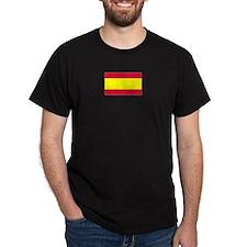 Spain Black T-Shirt