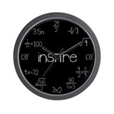 Math Clocks Wall Clock