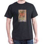 Bilibin's Red Horseman Black T-Shirt