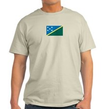 Solomon Islands Ash Grey T-Shirt