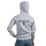 Maneater University Bad Kitty - Zip Hoodie