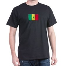 Senegal Black T-Shirt