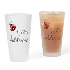 Ladybug Addison Drinking Glass