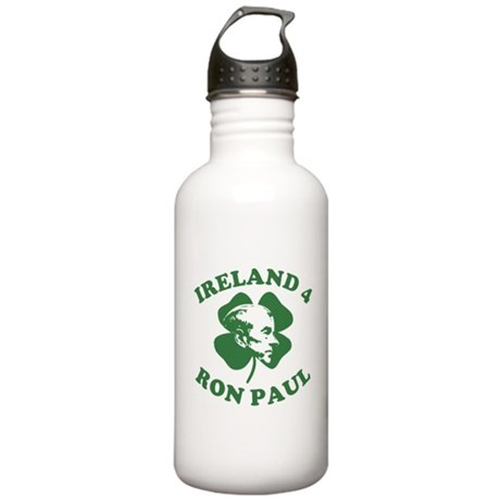 Ireland 4 Ron Paul Stainless Water Bottle 1 Liter