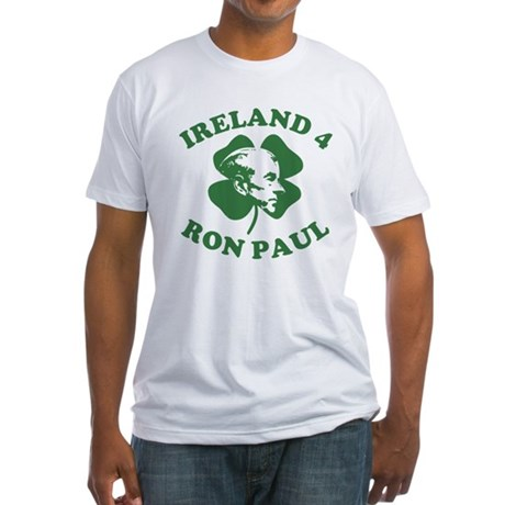Ireland 4 Ron Paul Fitted T-Shirt
