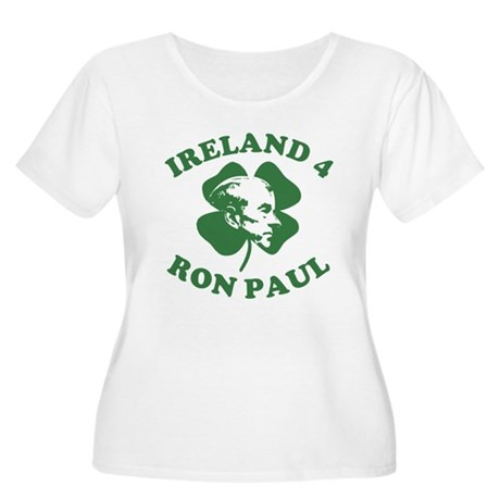Ireland 4 Ron Paul Womens Plus Size Scoop Neck T-