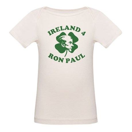 Ireland 4 Ron Paul Organic Baby T-Shirt