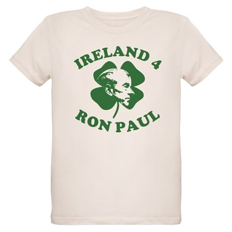 Ireland 4 Ron Paul Organic Kids T-Shirt