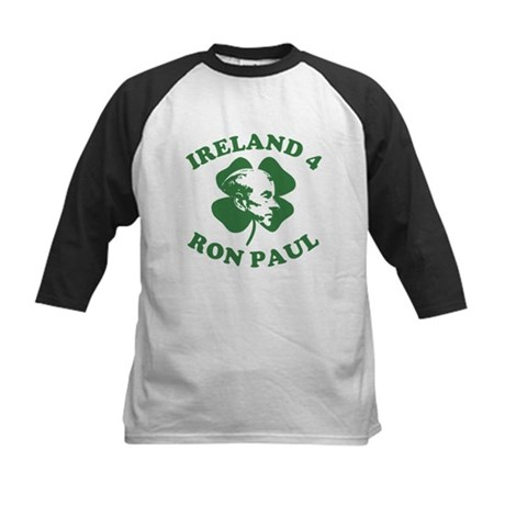 Ireland 4 Ron Paul Kids Baseball Jersey
