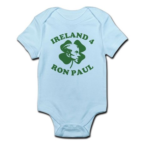 Ireland 4 Ron Paul Infant Bodysuit