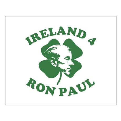 Ireland 4 Ron Paul Small Poster