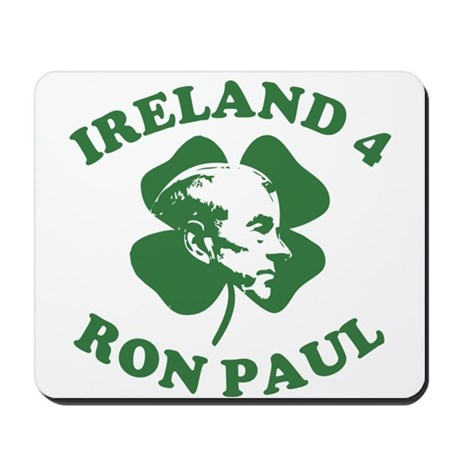Ireland 4 Ron Paul Mousepad