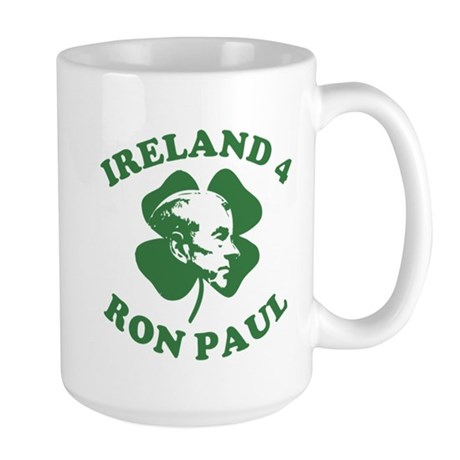 Ireland 4 Ron Paul Large Mug