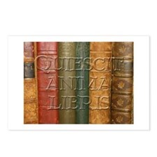 """Quiescit Anima Libris"" Postcards (Package of 8)"