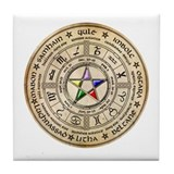 Sabbat Wheel Tile Coaster