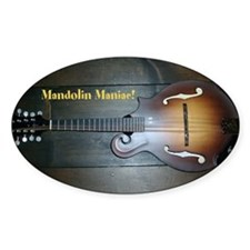 Funny Mandolin Decal