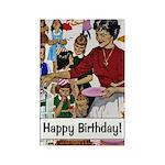 Happy Birthday Rectangle Magnet