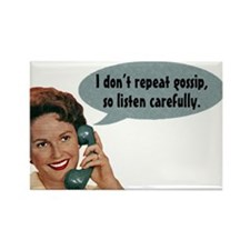 Gossip Fridge Magnet