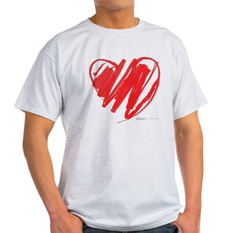Crayon Heart Light T-Shirt